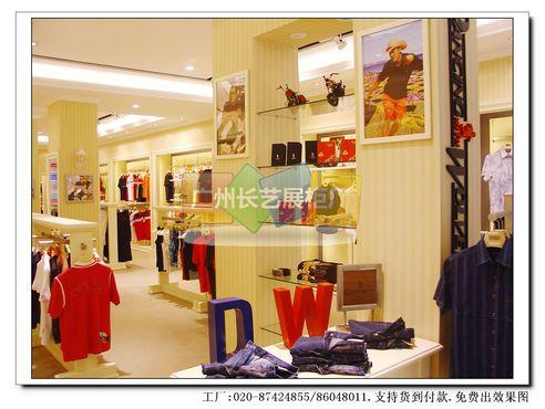 男装店专卖店面店铺装修设计效果图片>的照片