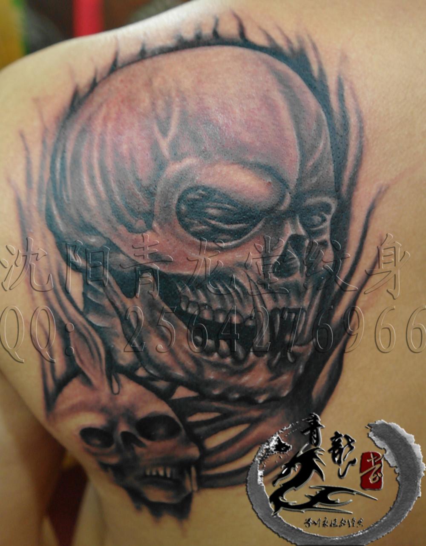 鬼纹身》花鬼纹身图片》《div图片