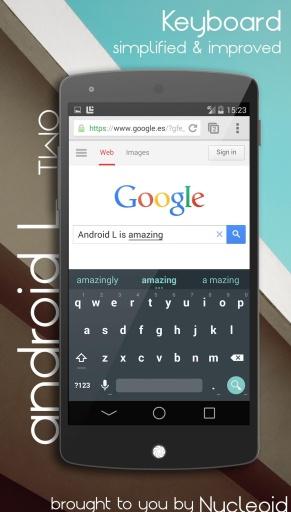 Android L主题CM11-应用截图