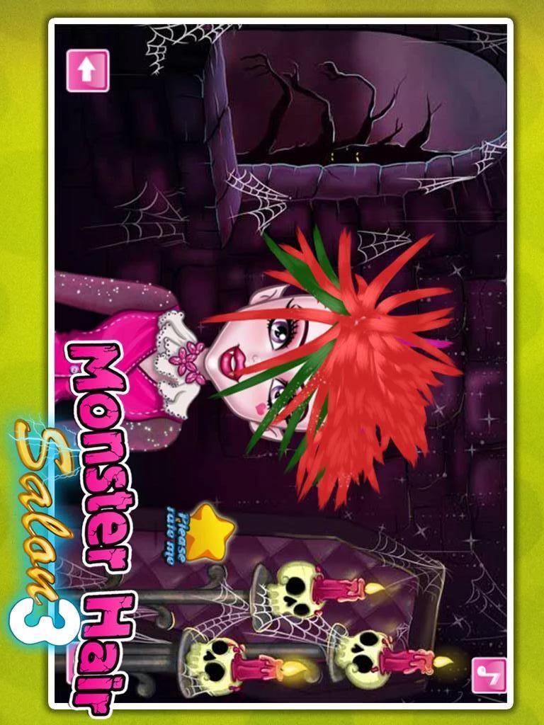 怪物女孩美发沙龙|玩遊戲App免費|玩APPs