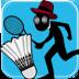 火柴人羽毛球 體育競技 App LOGO-APP試玩