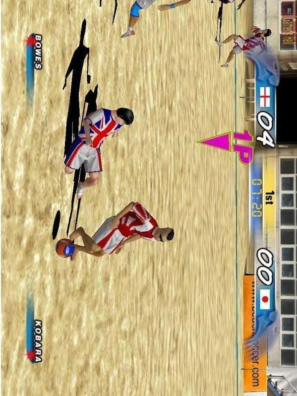 沙滩足球游戏