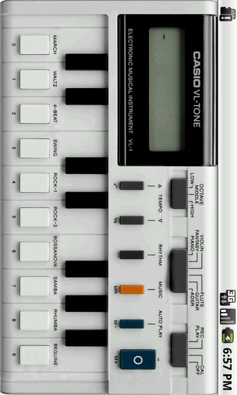 模拟电子琴