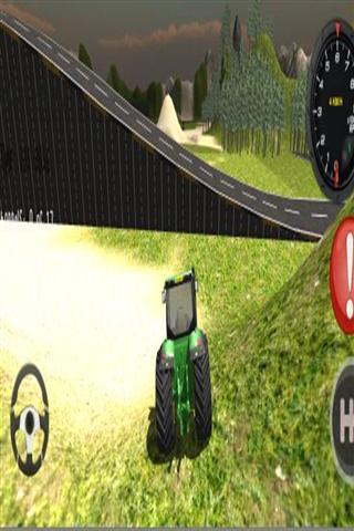 3D拖拉机驾驶