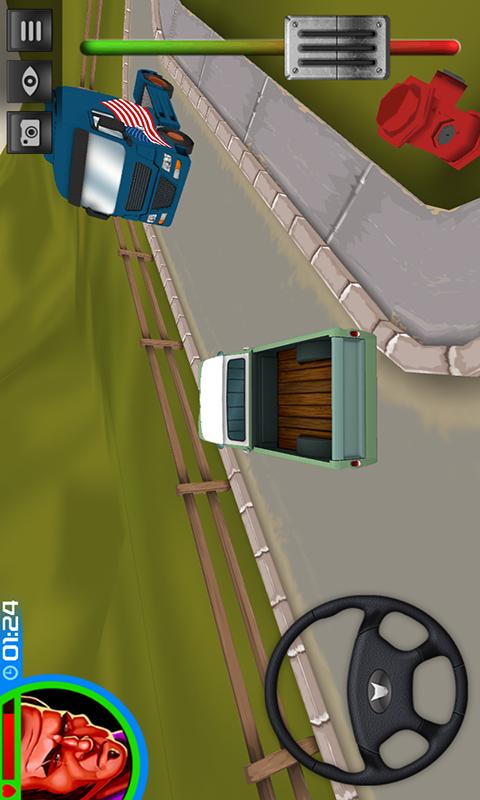 挑战卡车模拟3D-应用截图