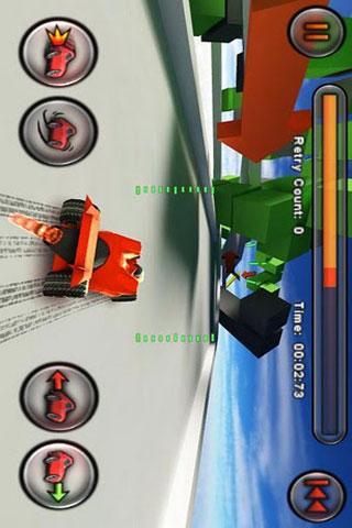 玩免費賽車遊戲APP|下載火箭车惊险特技赛 Jet Car Stunts app不用錢|硬是要APP