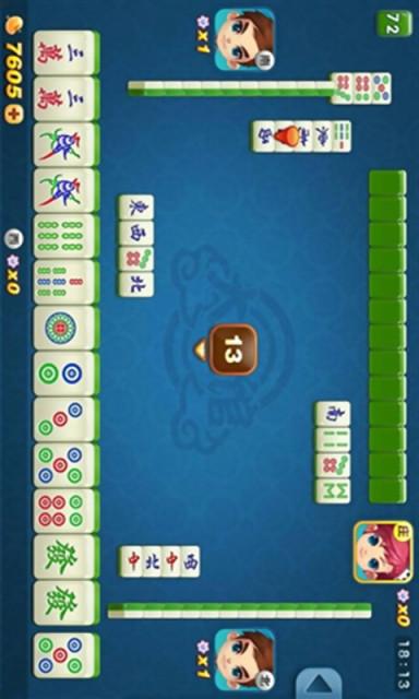 qq欢乐麻将(单机版)|玩棋類遊戲App免費|玩APPs