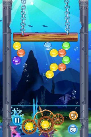 深海泡泡|玩棋類遊戲App免費|玩APPs