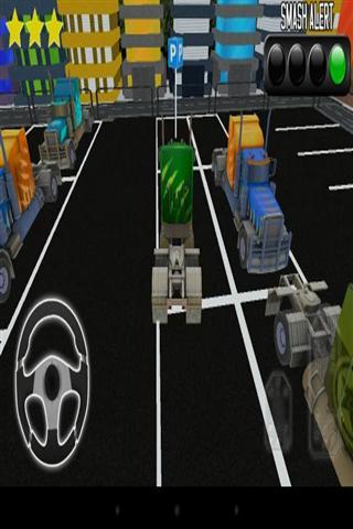 模拟停卡车