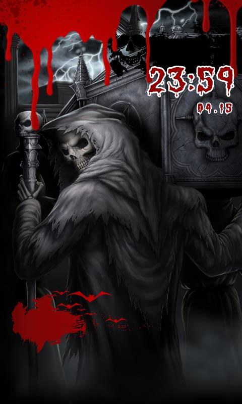 黑暗血途酷炫锁屏