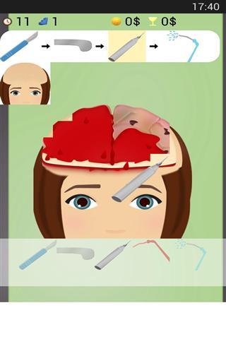 【免費遊戲App】脑外科手术-APP點子