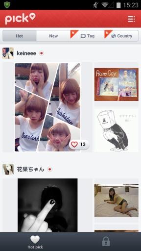 Pick图片社交