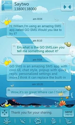 GOSMS Ocean Theme