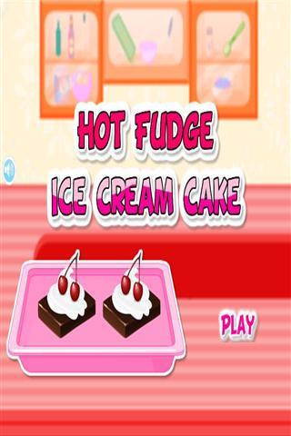 烹饪冰淇淋蛋糕