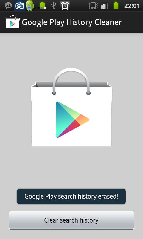 玩免費工具APP|下載Google Play History Cleaner app不用錢|硬是要APP