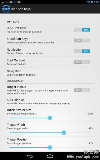 Auto Hide Soft Keys 工具 App-癮科技App