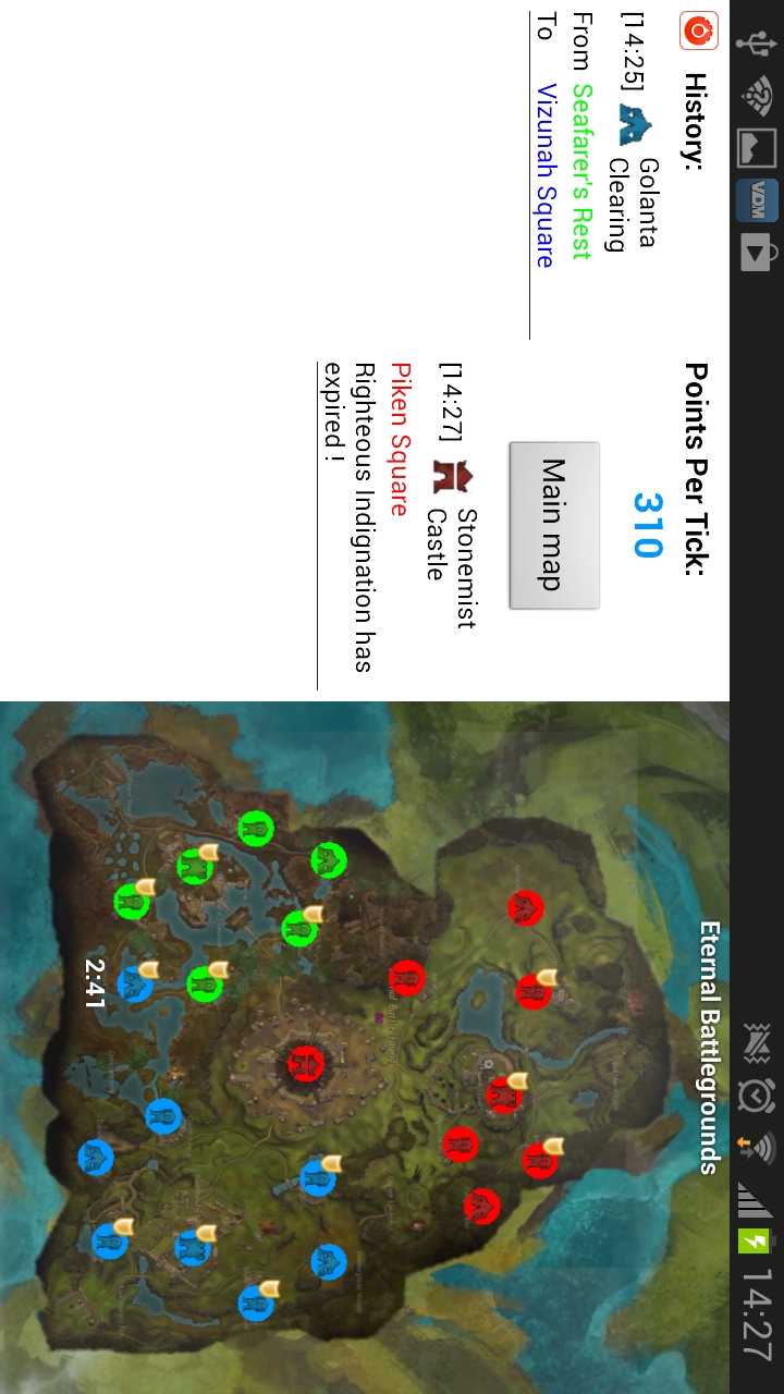 WvW Battle Map