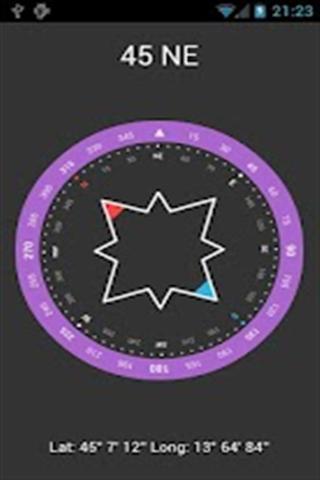 简易指南针 百度应用高清图片