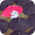 扑克兔之下雨天-梦象动态壁纸 個人化 App Store-癮科技App