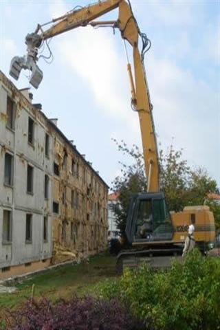 建筑拆除城市