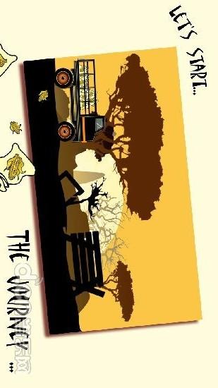 农用车爬山