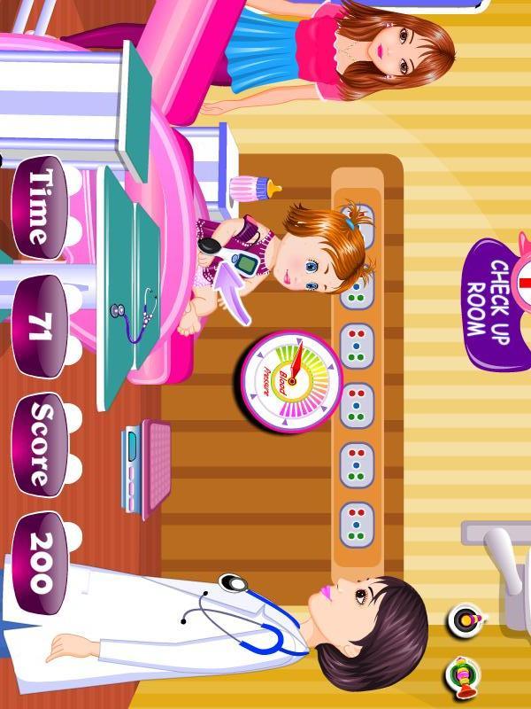 婴儿医疗女孩子的游戏|玩遊戲App免費|玩APPs