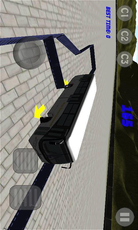 巴士停车场3D