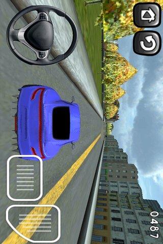 3D模拟停车场