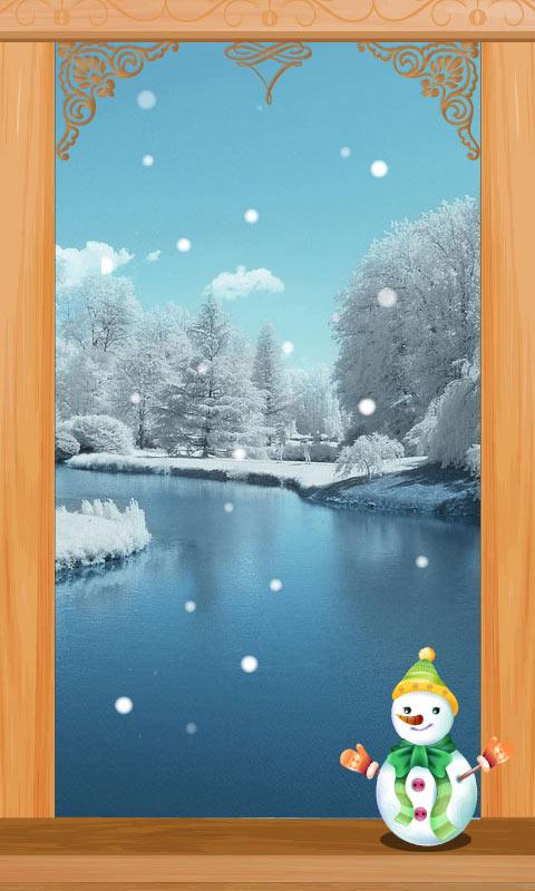 冬日湖畔清新唯美精致锁屏壁纸|玩個人化App免費|玩APPs